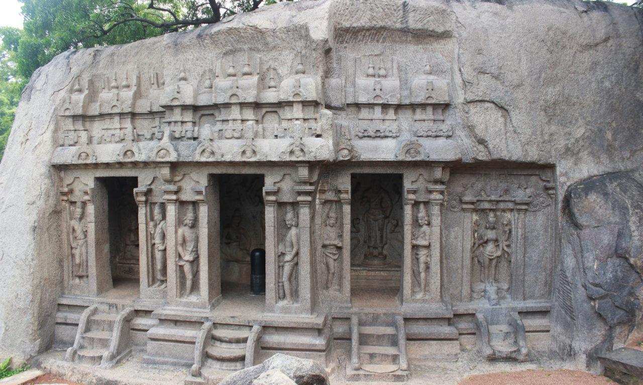 Pallava rock cut cave temples [part-01]