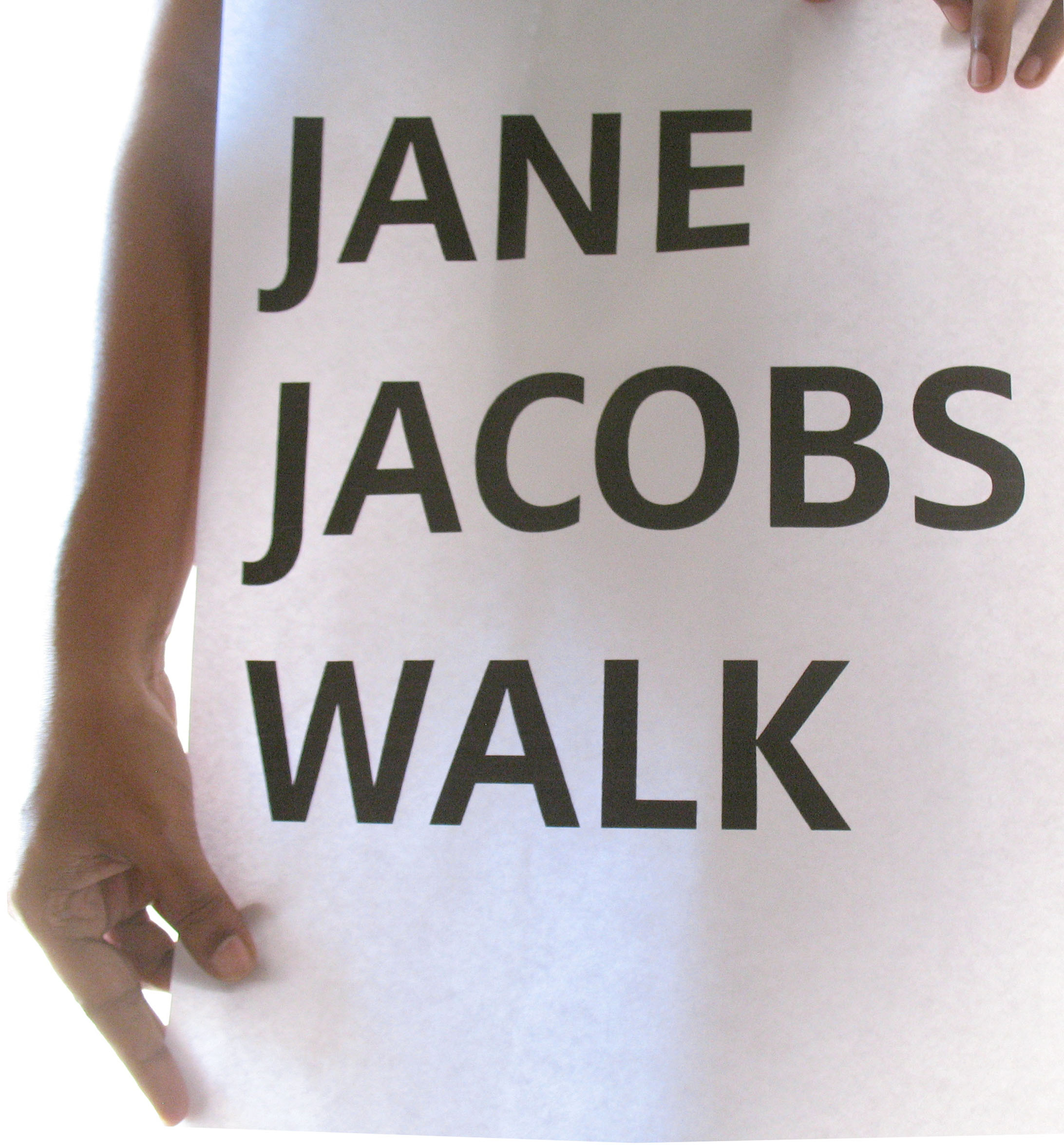 Jane Jacobs walk!