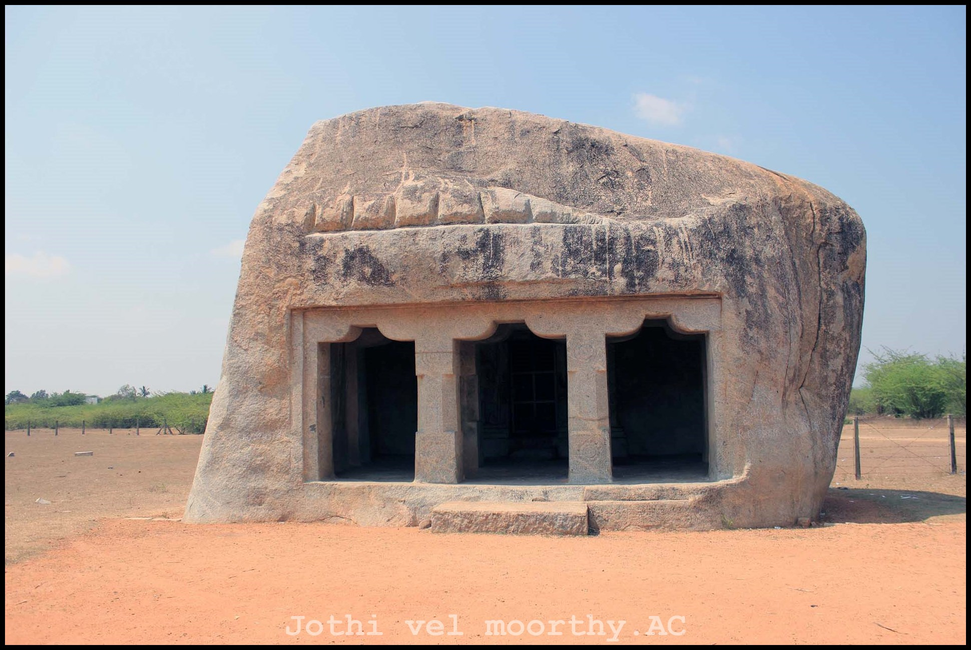 Pallava rock cut cave temples [part-02]