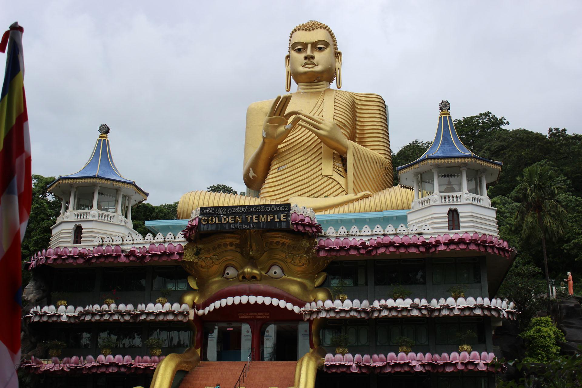 Sri Lanka – The Golden Temple of Dambulla
