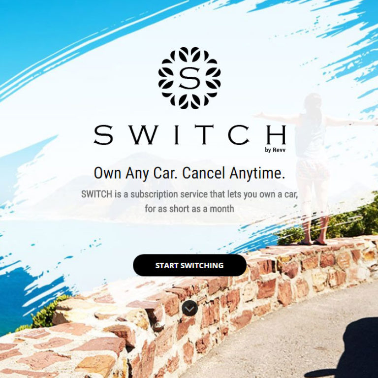 Switch – India's first car subscription platform